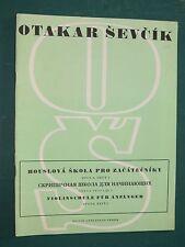 """Méthode Otakar SEVCIK """"École de violon pour débutant"""" Op. 6 cahier I"""
