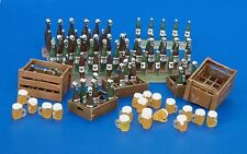 Plus Model 1:35 Beer Bottles And Boxes Resin Diorama Accessory #220