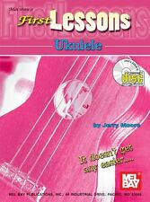 MEL BAY FIRST LESSONS UKE Learn to Play Ukulele Music Book CD EASY BEGINNER KIDS