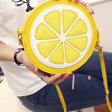 Lemon Style Ladys Fruit Slice Crossbody Shoulder Bag Messager Handbag Clutch tb