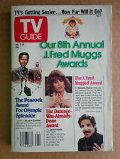 TV GUIDE magazine J7 1989 J. FRED MUGGS AWARDS-Charlie Robinson-RYAN WHITE story