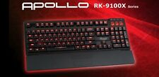 Rosewill Apollo RK-9100xR Red Backlit Mechanical Keyboard Cherry MX Blue Switch