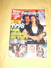 TÉLÉ STAR N°1161 décembre 1998 Titanic Kate winslet Leonardo Dicaprio