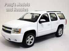 Chevrolet Tahoe (2008) 1/24 Scale Diecast Metal Model by Welly - WHITE