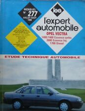 Revue technique OPEL VECTRA 1400 1600 2000 ESSENCE1700 DIESEL EXPERT N° 277 1990