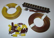 Connector, Twin strands and Distributor unit with connector NEW