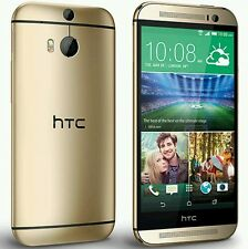 Htc one M8 32gb golden smart phone universal all sim supportd seald pack