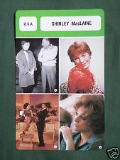 SHIRLEY MACLAINE - MOVIE STAR - FILM TRADE CARD - FRENCH -#2