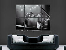MUHAMMAD ALI BOXING LEGEND CASSIUS CLAY VINTAGE HUGE   POSTER ART  PRINT LARGE