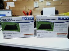 Lot 2  Intex Solar Mat Above Ground Swimming Pool Water Heater - Black  28685E