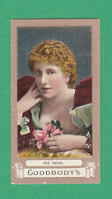 T. P. & R. GOODBODY  -  EXTREMELY RARE ACTRESS CARD  -  IDA  RENE  -  1900