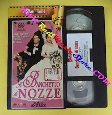 VHS film IL BANCHETTO DI NOZZE Ang Lee I GRANDI FILM DI PANORAMA (F70) no dvd