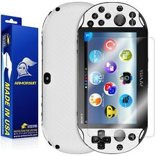 ArmorSuit MilitaryShield Sony PS Vita Slim (2014) Screen Protector+ White Carbon