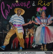 NESTOR CAMPOS ET SES BRESILIENS CARNAVAL A RIO CHEESECAKE COVER FRENCH LP