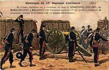 CPA Militaire, Historique du 17 Regiment d'Artillerie - En Crimee (362606)