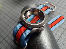 XULU 5 RINGS BALISTIC NYLON STRAP CAFE RACER FOR YOUR MOD.SEIKO OR BOSTOK ST-04