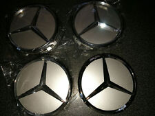 4pcs Mercedes Car Center Emblem Wheel Cover Wheel Trim Cap Hubcap Badge Sticker