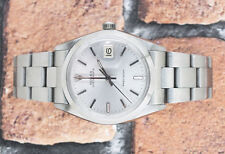 Gents Stainless Steel Vintage Rolex Oysterdate Precision with Silver Dial.