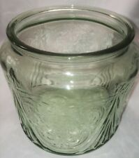 Royal Lace Depression Glass Green, Cookie Jar Bottom