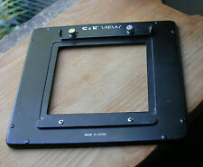 S & K view camera 175mm square adaptor lens board to 115mm panel