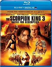 The Scorpion King 3: Battle for Redemption (Blu-ray Disc, 2014, Includes...