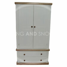HANDMADE DEWSBURY COUNTRY 2 DOOR WARDROBE(ASSEMBLED)