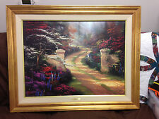 Thomas Kinkade Original.  Spring Gate. #914/990