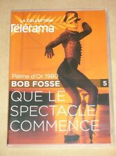 DVD / QUE LE SPECTACLE COMMENCE / BOB FOSSE / ROY SCHEDER / JESSICA LANGE / TBE