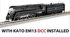 kato 126-0312 *DCC* N 4-8-4 GS4 W/ *EM13 DCC* installed BNSF EXCURSION
