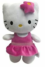 "Sanrio Hello Kitty Pink Ballerina 12"" Plush Stuffed Toy"