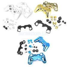 3 Colors Full Housing Case Shell Replacement Buttons for Sony PS3 Controller