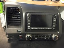06 07 08 09 HONDA CIVIC RADIO CD XM NAVIGATION PLAYER #39541-SVA-A020-M1 (R-013)