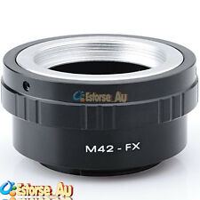 M42 42mm Mount Lens to Fujifilm fuji FX X Mount X-Pro1 Camera Adapter Ring