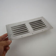 9''X4'' Stainless Steel Air Vent Louvred Grill Cover Ventilation Louvre Grille
