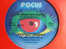 PERFECT ZEBRAS Running with zebras / man or machine FOS 1