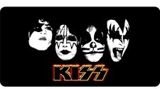 Kiss the Rock Band Photo License Plate
