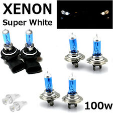 H7 H7 HB4 100w SUPER WHITE XENON UPGRADE HID Headlight Bulbs 12v HIGH/LOW/FOG
