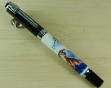 Jinhao 8802 Chinaware Roller Ball Pen Tiger King Pattern