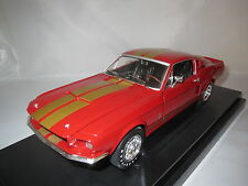 "Ertl/American Muscle  1967  Shelby  GT-500  ""rot/gold-metallic""  1:18 OVP !!!"