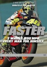 Faster [ 2 DVD Set ] Region 4, FREE Next Day Post...8174