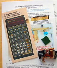 TEXAS INSTRUMENTS TI-59 CALCULATOR CARD READER GUMMY WHEEL REPAIR KIT