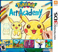 Nintendo 3DS Pokemon Art Academy Game BRAND NEW SEALED
