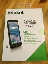 "New Unlocked GSM Cricket Alcatel OneTouch Flint 50540 4G 5.5"" Android 16GB"