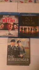 "The Caine Mutiny  - Act Of Valor - The Messenger   "" Blu - Ray Only"""