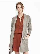 BANANA REPUBLIC WOMENS 2016 AIRE PATCH POCKET CARDIGAN SWEATER TOP $98.00 L XL