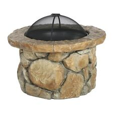 Best Selling Home Decor 296462 Micah Outdoor Natural Cement Fire Pit