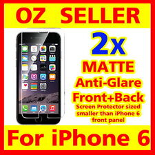 iPhone 6 Anti-Glare Matte Screen Film Protector Front & back Apple iPhone6 4.7""