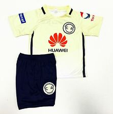 Las Aguilas Del America Jersey Outfit Size:0,1,2,4,6,8,10,12 Baby,Toddler &Youth