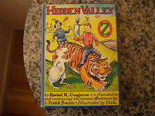 Hidden Valley of Oz by Rachel R. Cosgrove (L. Frank Baum). First edition 1951
