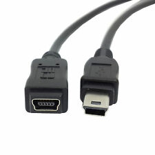 USB 2.0 Hi Speed Mini USB 5Pin Male to Female Extension Cable Adapter 1.5M